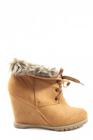 Vices Slouch Booties blue casual look
