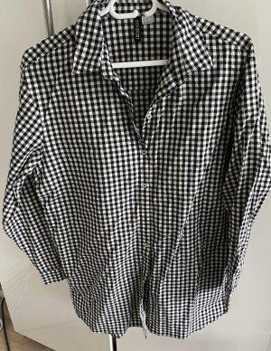 Vichy Karo Long Bluse von H&M Divided