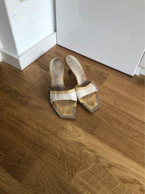 Vicini Sandaletten mit Metalleinsätzen 39