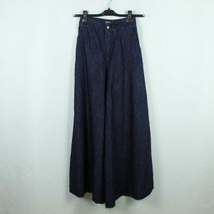 VICOLO High Waist Marlenejeans Gr. 36 blau  - extra weites Bein (20/03/210)