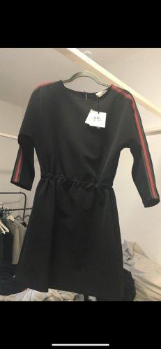 Vicolo Kleid mit grün roten Streifen