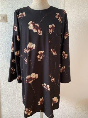 VICOLO Kleid mit Trompetenärmeln