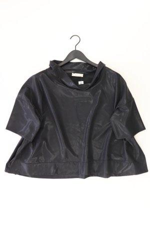 ViCOLO Kurzarmbluse Größe S schwarz aus Polyester