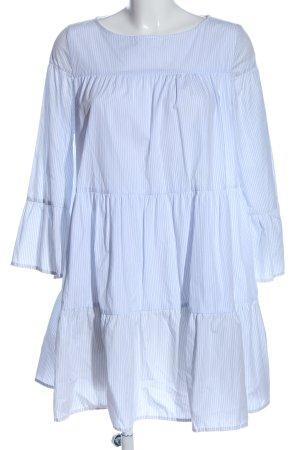 Vicolo Minikleid blau-weiß Streifenmuster Casual-Look
