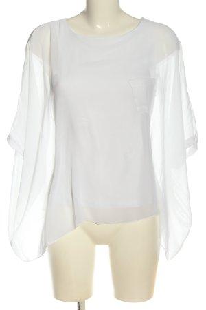 Vicolo Oversized Bluse weiß Elegant