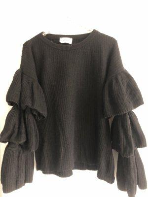 VICOLO Pullover in schwarz