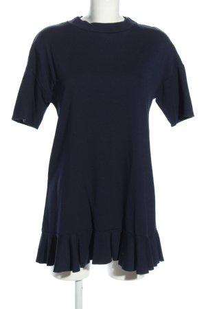 Vicolo Shirtkleid blau Business-Look