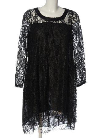 Vicolo Spitzenkleid schwarz Elegant