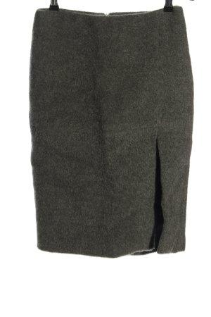 Victor Victoria Wełniana spódnica brązowy W stylu casual