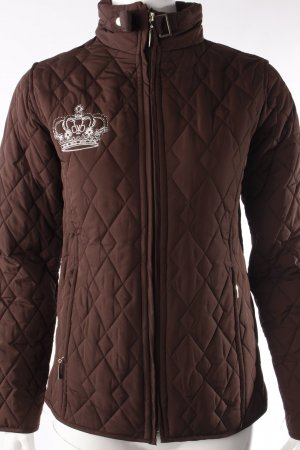 Rock & Republic Quilted Jacket black brown-brown