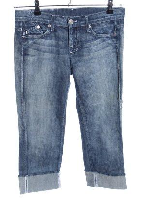 Victoria Beckham Jeans 3/4 bleu style décontracté