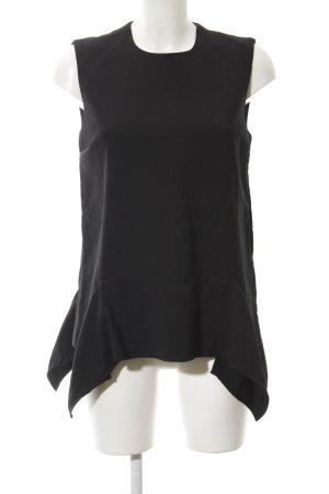 Victoria Beckham A-Linien Top schwarz Elegant