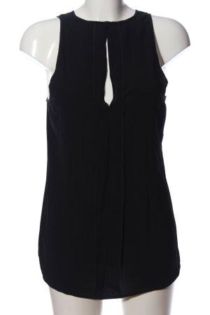 Victoria Beckham ärmellose Bluse schwarz Casual-Look