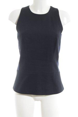 Victoria Beckham ärmellose Bluse schwarz Business-Look