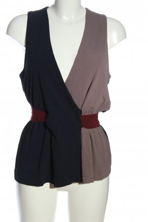 Victoria Beckham ärmellose Bluse mehrfarbig Casual-Look