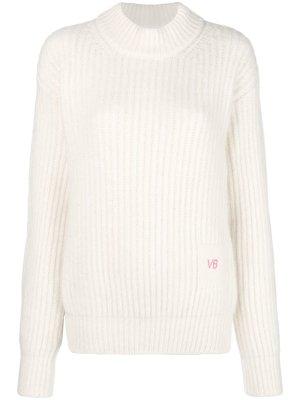 Victoria Beckham Alpaca Sweater, Gr. XS, Ivory