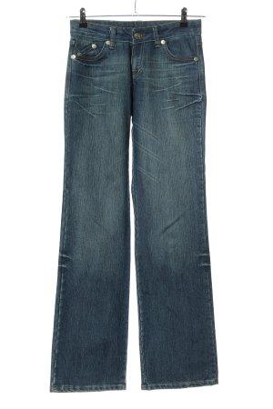 Victoria Beckham Boot Cut Jeans blau Casual-Look