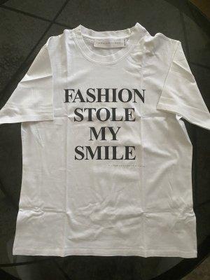 Victoria Beckham T-shirt blanc-noir