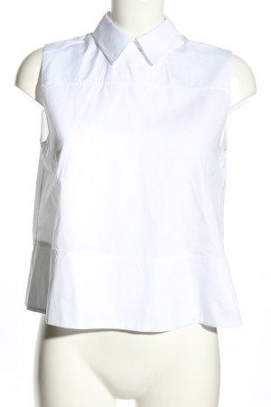 Victoria Beckham Hemd-Bluse weiß Business-Look