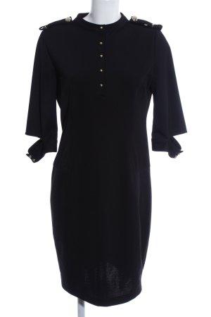 Victoria Beckham Hemdblousejurk zwart casual uitstraling