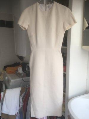 Victoria  Victoria Beckham Pencil Dress white-natural white silk