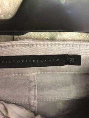 Victoria Beckham Pantalon 7/8 gris clair-argenté