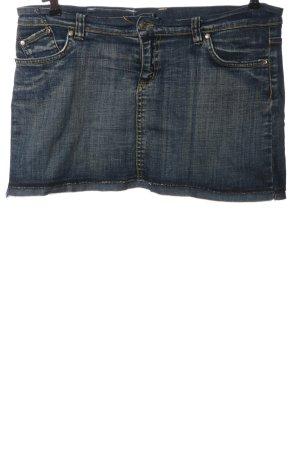 Victoria Beckham Jupe en jeans bleu style décontracté