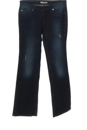 Victoria Beckham Jeansschlaghose blau Casual-Look