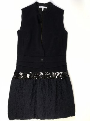 Victoria Beckham Kleid dunkelblau Gr 34