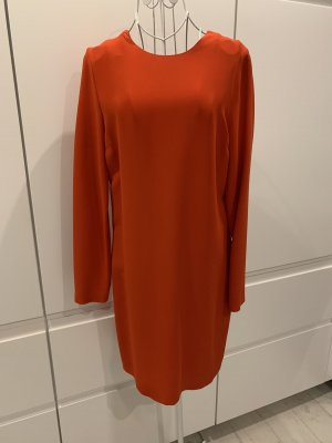 Victoria Beckham Longsleeve Dress red