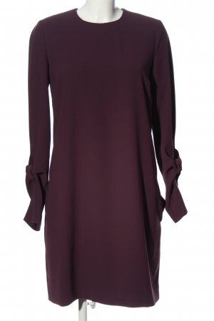 Victoria Beckham Robe à manches longues violet style décontracté