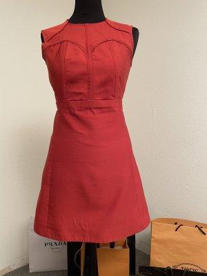 Victoria Beckham Mini Dress bright red