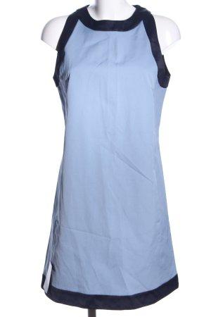 Victoria Beckham Minikleid blau-schwarz Casual-Look