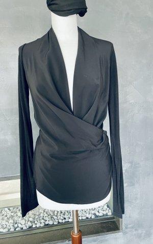 Victoria Beckham Pull en maille fine noir