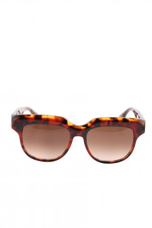 Victoria Beckham Oval Sunglasses allover print casual look