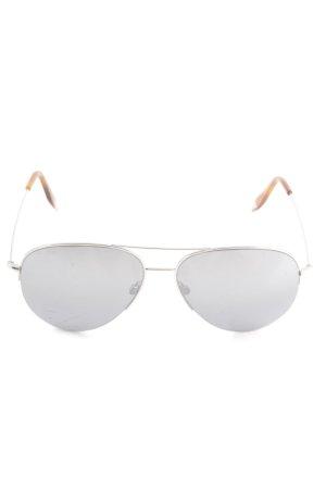 Victoria Beckham Pilot Brille mehrfarbig klassischer Stil