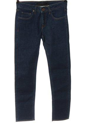 Victoria Beckham Jeans cigarette bleu style décontracté