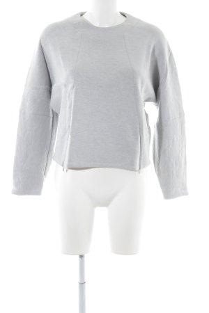 Victoria Beckham Pull ras du cou gris clair style décontracté