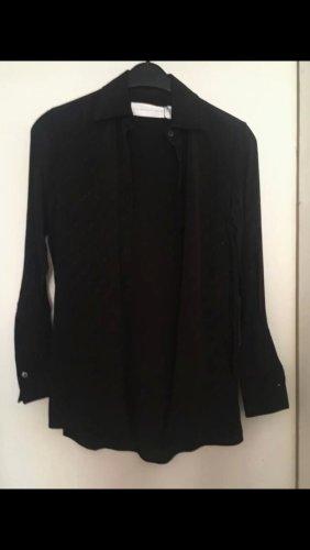 Victoria  Victoria Beckham Jedwabna bluzka czarny Jedwab