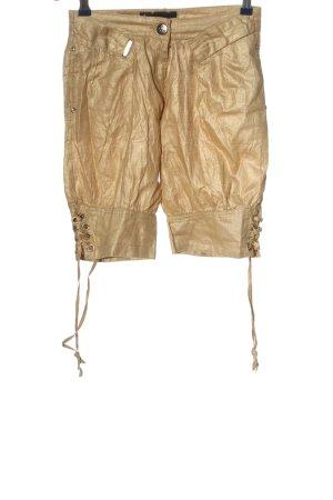 Victoria Beckham Shorts goldfarben Casual-Look