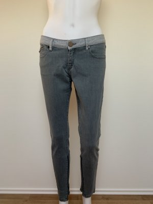 Victoria Beckham Jeans skinny gris