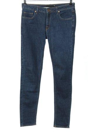 Victoria Beckham Jeans slim bleu style décontracté