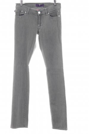 Victoria Beckham Jeans slim gris
