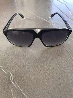 Victoria Beckham Vierkante bril zwart