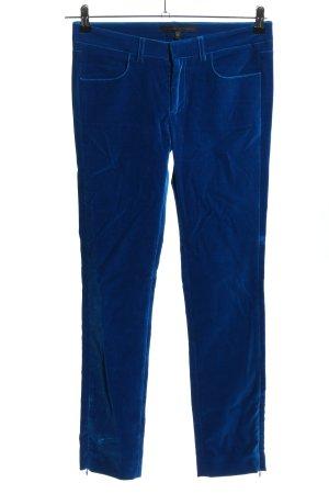 Victoria Beckham Stoffhose blau Casual-Look
