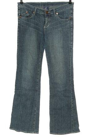 Victoria Beckham Jeans coupe-droite bleu style décontracté