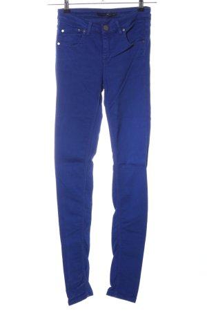 Victoria Beckham Jeans stretch bleu style décontracté