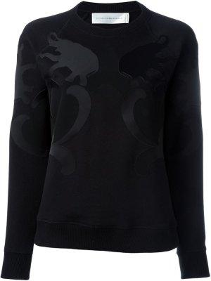 Victoria Beckham Pull tricoté noir