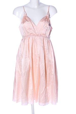 Victoria Couture Babydollkleid pink Glanz-Optik