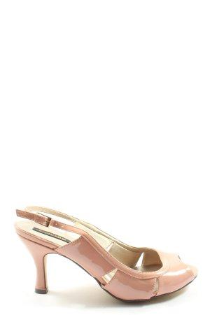 Victoria delef High Heel Sandaletten pink Casual-Look